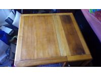 folding table, wooden, butterfly table