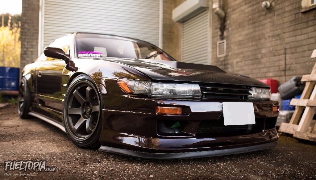 93 Nissan Silvia PS13 Red Purple   320HP (Japanese Import / S13 / 180SX /