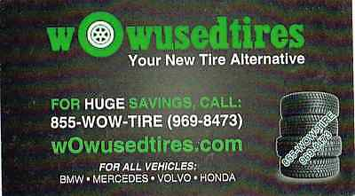 wow used tires new tire alternative
