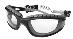 Bolle-Tracker-II-2-Safety-Glasses-Goggles-Anti-Mist-Scratch-Clear-TRACPSI