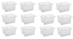Plastic storage boxes 35 litre