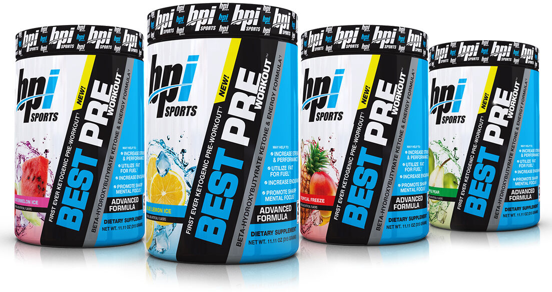 BPI Sports Best Pre-Workout - Muscle Enhancing Dietary Suppl