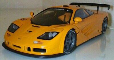 1/18 UT Models McLaren F1 XP LM Le Mans Roadcar Papaya Orange