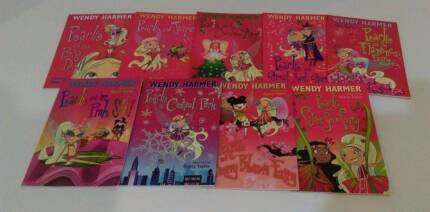 PEARLIE THE PARK FAIRY by Wendy Harmer. 9 books Excellent cond