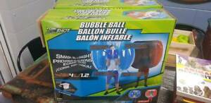 2 x bubble balls, never been used
