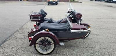 VINTAGE 1957 HARLEY DAVIDSON SIDECAR LIGHTS, BRAKES, SUSPENSION, MANUAL HORN...