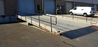 Redi-dock Modular Concrete Loading Dock Ramp Delivery Auto Truck Forklift Ramp