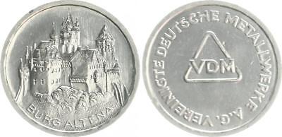 Deutschland Probeprägung auf 5-DM mit Randschrift von 5DM Raiffeisen VDM R! prfr