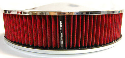NEW SPECTRE PERFORMANCE FILTER CHROME AIR CLEANER 9
