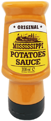 Mississippi Potatoes Sauce - Grillsauce für Pommes & Grill Kartoffeln - 300 ml