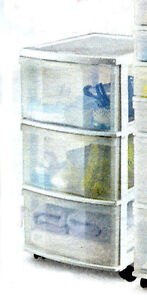 Plastic Drawers and Boxes for closets,