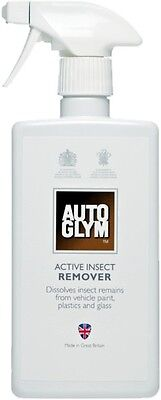 Autoglym Active Insect Bug Remover Car Bodywork Paint Windscreen Cleaner Valet