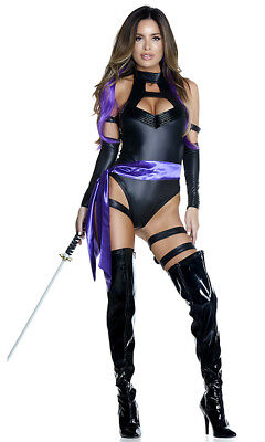 Forplay Karate Holzhacken Sexy Ninja Body Erwachsene Damen Halloween Kostüm