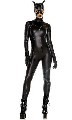 Forplay On The Prowl Bösewicht Sexy Katze Erwachsene Damen Halloween Kostüm