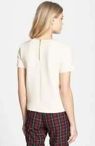 Quilted White Tee (TOPSHOP) West Island Greater Montréal image 4