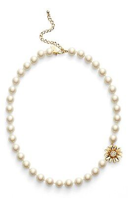 Kate Spade Mom Konws Best, Dazzling Daisies, Faux Pearl Necklace,