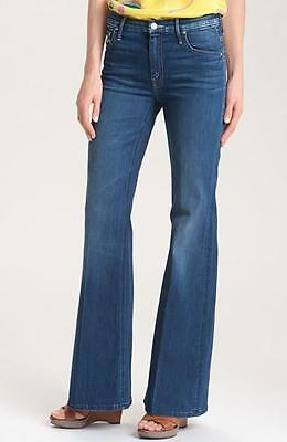 New With Tag  Mother Womens The Mellow Drama Flare Leg Jean Pants In Stardust