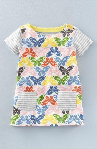 015664f74e9 Mini Boden girls cotton jersey hotchpotch print tunic top dress NEW ages 1  - 12