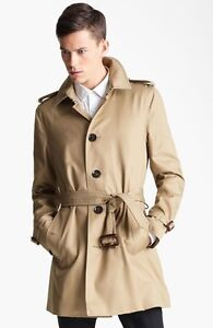 Burberry single breasted trench coat