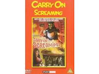 9 carry on films (dvds)