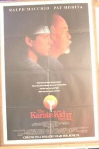 Poster for the movie Karate kid 2