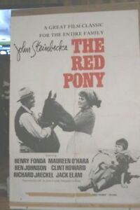 The Red Pony movie poster - released  1973  # 6994