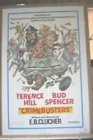 Crimebusters  movie poster