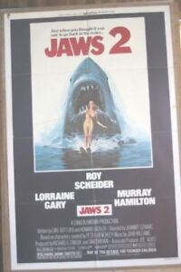 Poster for the movie Jaws 2