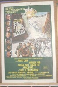 Force 10 From Navarone movie poster (6887)