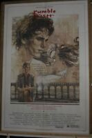 Rumble Fish  movie poster ( 7492 )