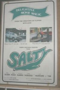 The movie poster for  Salty  plus others.