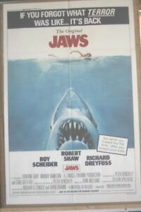 Poster for the movie Jaws