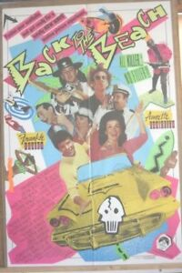Poster for the movie Back to the beach