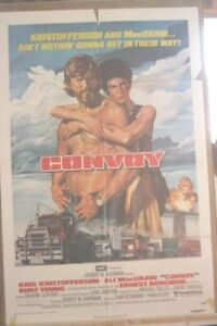Poster for the movie Convoy