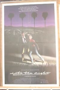 The Into The Night movie poster -- released  1985 -- 6846