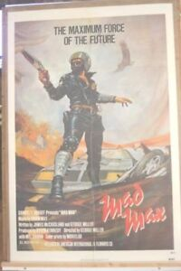 The First Mad Max Movie Poster released 1980  # 6841