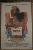 The movie poster for,  ( C U B A )