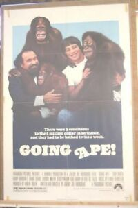 The Going Ape movie poster - released 1981   # 6947