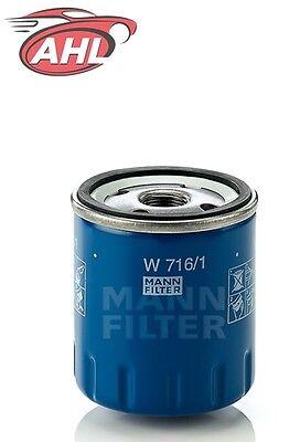 ÖLFILTER für CITROEN FIAT PEUGEOT MANN + HUMMEL  MANN W 716/1 1,5 V Dc Aa Pack