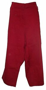 Red Twill Capris - Plus Size 24 - NEW