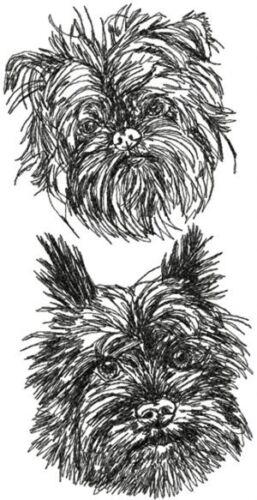 Affenpinscher Dog Breed Personalized Embroidered Fleece Stadium Blanket Gift