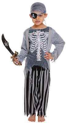 oter Piraten Halloween Kostüm Kleid Outfit 4-12 Jahre (Jungen Piraten-halloween-kostüm)