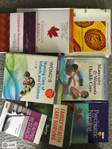 NURSING TEXTBOOKS!!! ALL 4 YEARS!!! GREAT CONDITIONS!!!