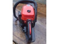 """Sold-Mountfield 16"""" Petrol chainsaw"""