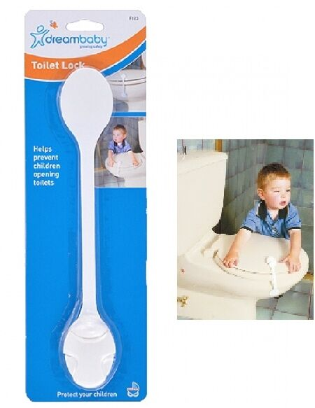 Dream Baby Adhesive Toilet Lid Safety Lock