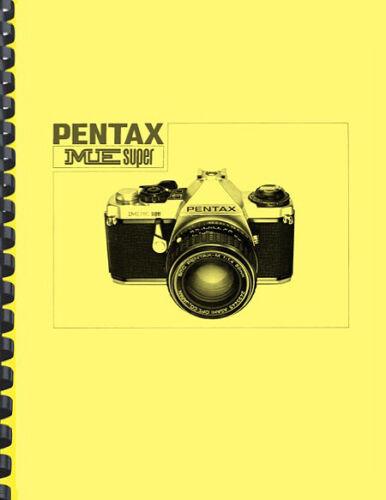 Pentax ME Super Camera OWNER