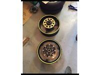 Gsxr k5 k6 1000 thou wheels with disks