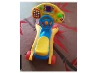 Vtech 2in1 rocker/scooter battery operated