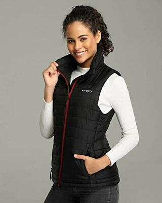 ORORO Women Heated Vest Kit Winter Outdoor Quilted Powered Clothing Small USA