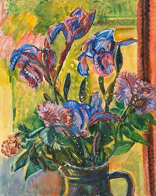 Nicolas  Tarkhoff  Still Life With Flowers   - 24'  CANVAS